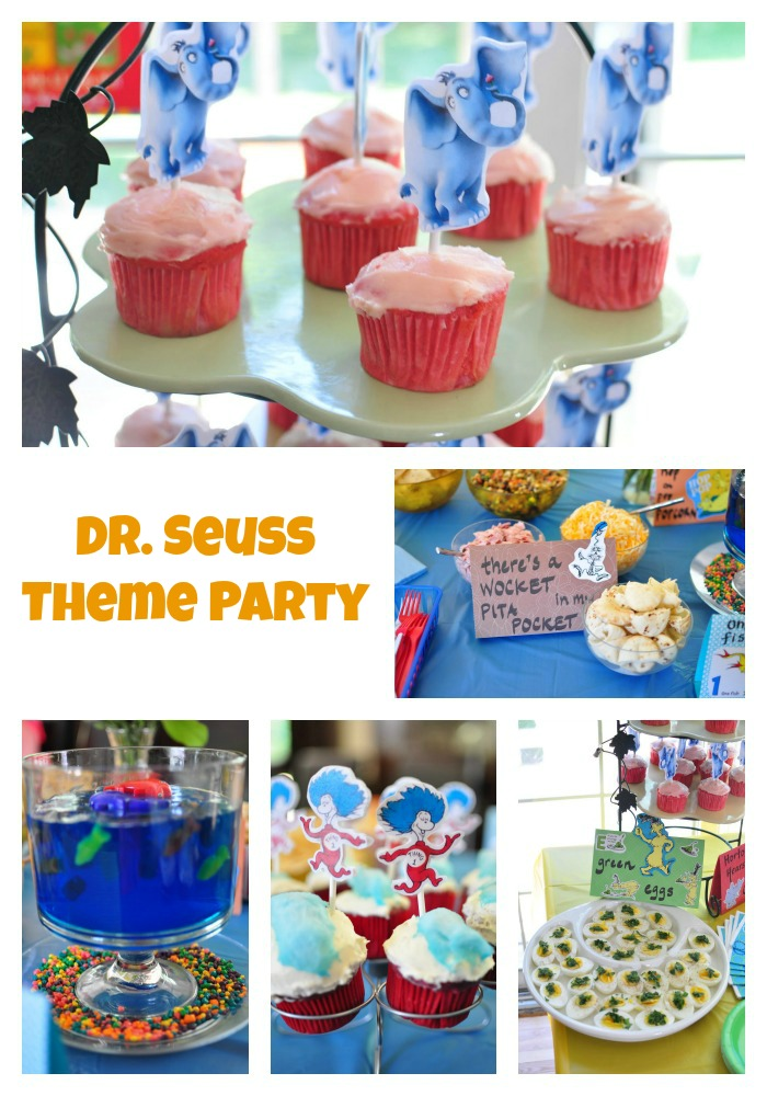 Theme Party For Dr. Seuss