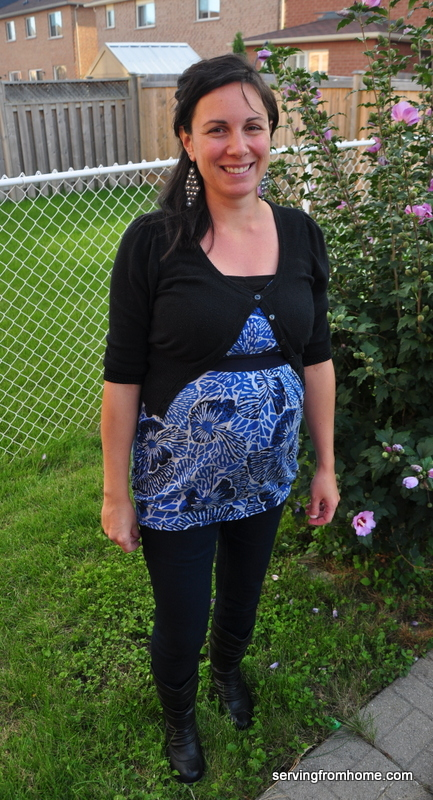 day 21 week 3 recap 31 days of fall maternity fashion serving