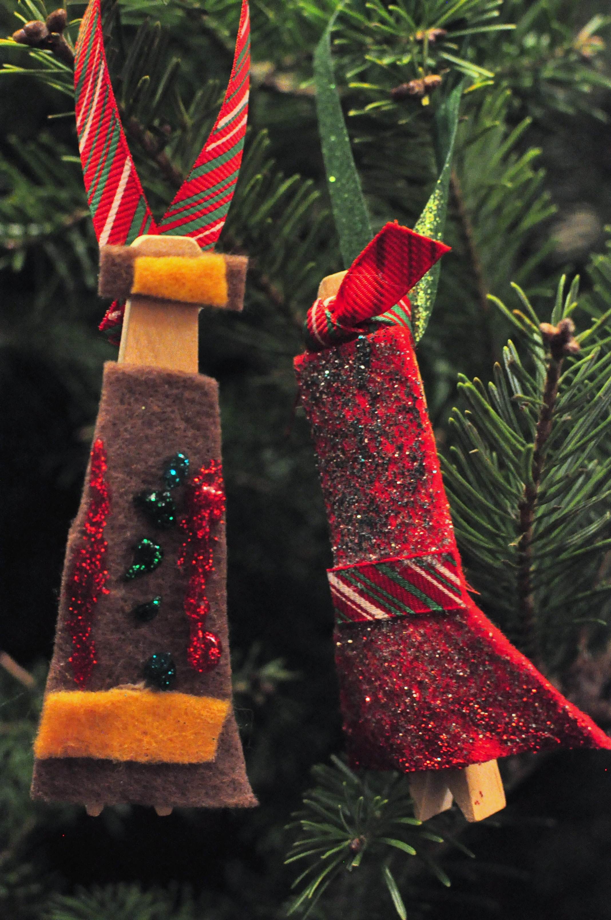 truth tinsel ornaments