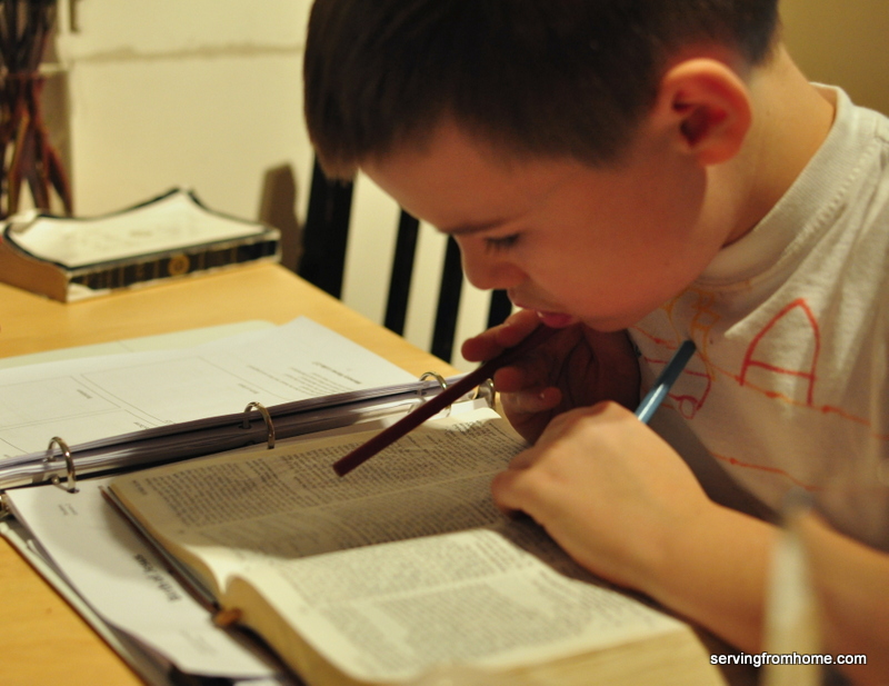 Searching scripture