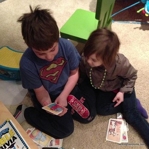 Big brother teaching time