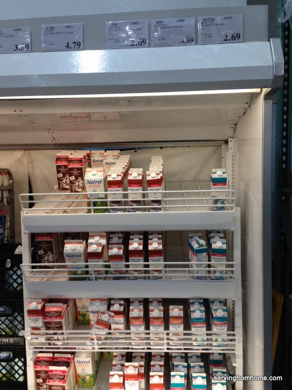 Costco dairy
