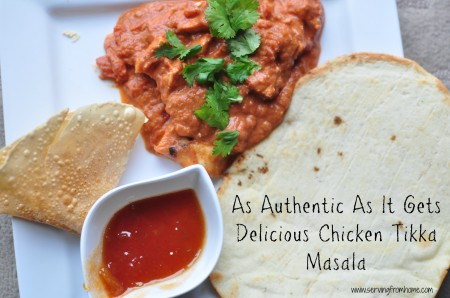 As Authentic As It Gets: Chicken Tikka Masala