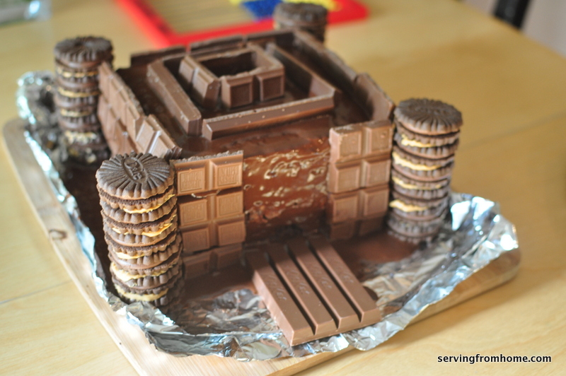 An 8 Year Old s DREAM Castle Birthday Cake - and it s ...