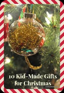 Kid-Made Christmas Gifts