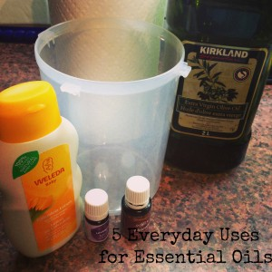everyday uses essential oils