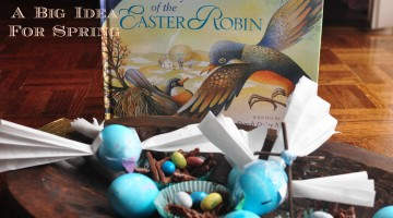 Book Big Idea Spring Easter Robin