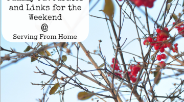 Family Favourites Links for the Weekend