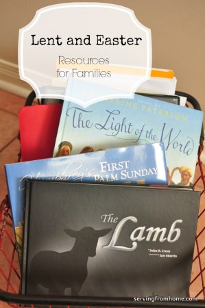 Lent and Easter Resources for Families