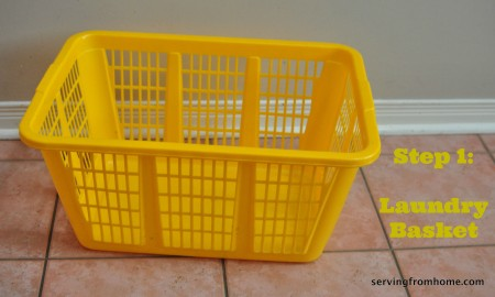 grab a laundry basket