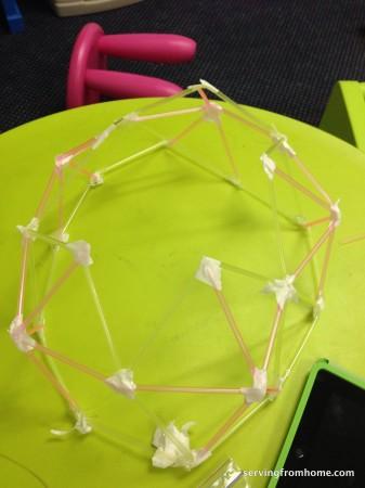 Geodesic dome step 6