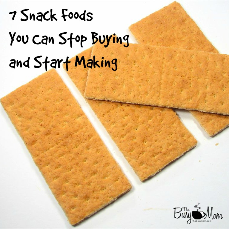 Snack foods you can make yourself serving from home homemade snack foods solutioingenieria Choice Image