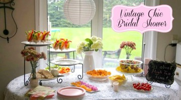 Vintage Chic Bridal Shower
