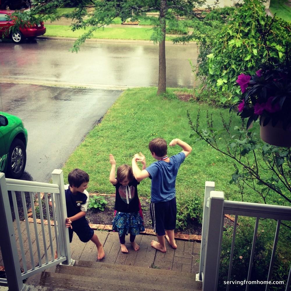 playin' in the rain
