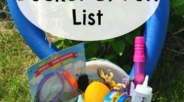 Summer Bucket of Fun List