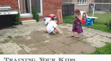 Training your kids to be diligent