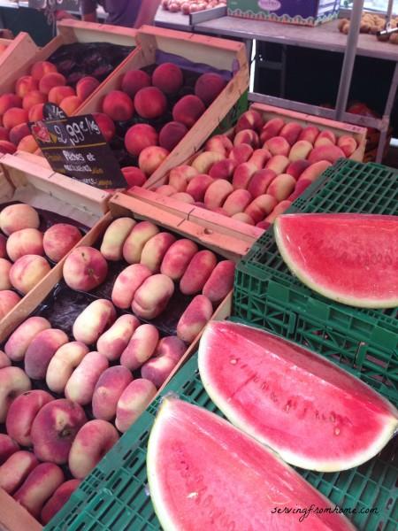 Fresh Fruit in a French street market
