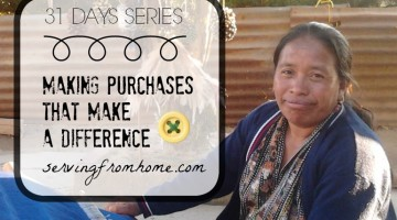Making Purchases That Make a Difference