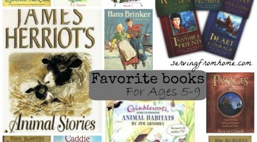 Favorite Books for Ages 5-9