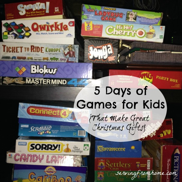 5 Days of Games for Kids