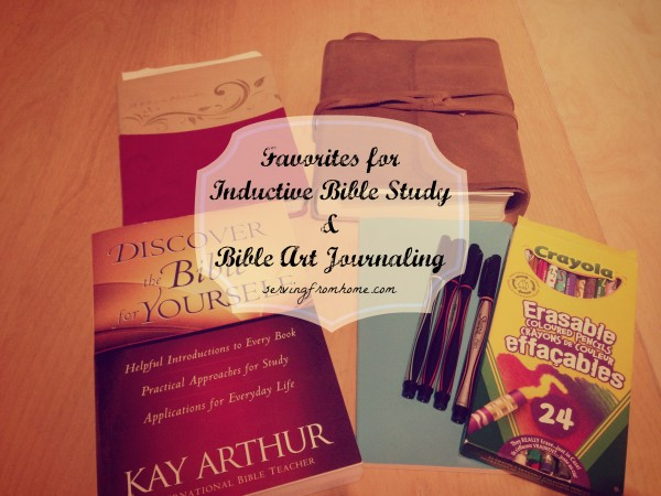 Favorite Tools for Inductive Bible Study and Bible Art Journaling