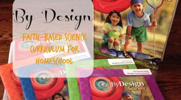 By Design Faith-Based Science Curriculum for Homeschool