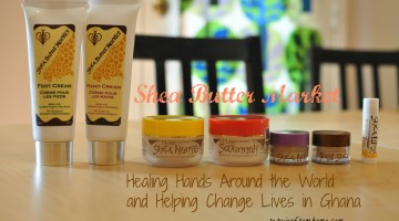Shea Butter Market Healing Hands Helping Lives