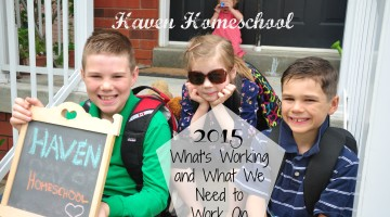 Haven Homeschool 2015 update