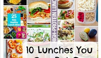 10 Lunches You Can Put on Repeat