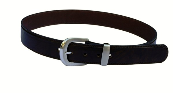 Grey Rock clothing brown leather belt