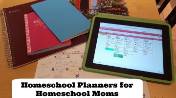 Homeschool Planners for Homeschool Moms