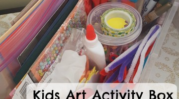Kids Art Activity Box