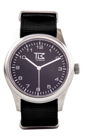 Tim watch classic black