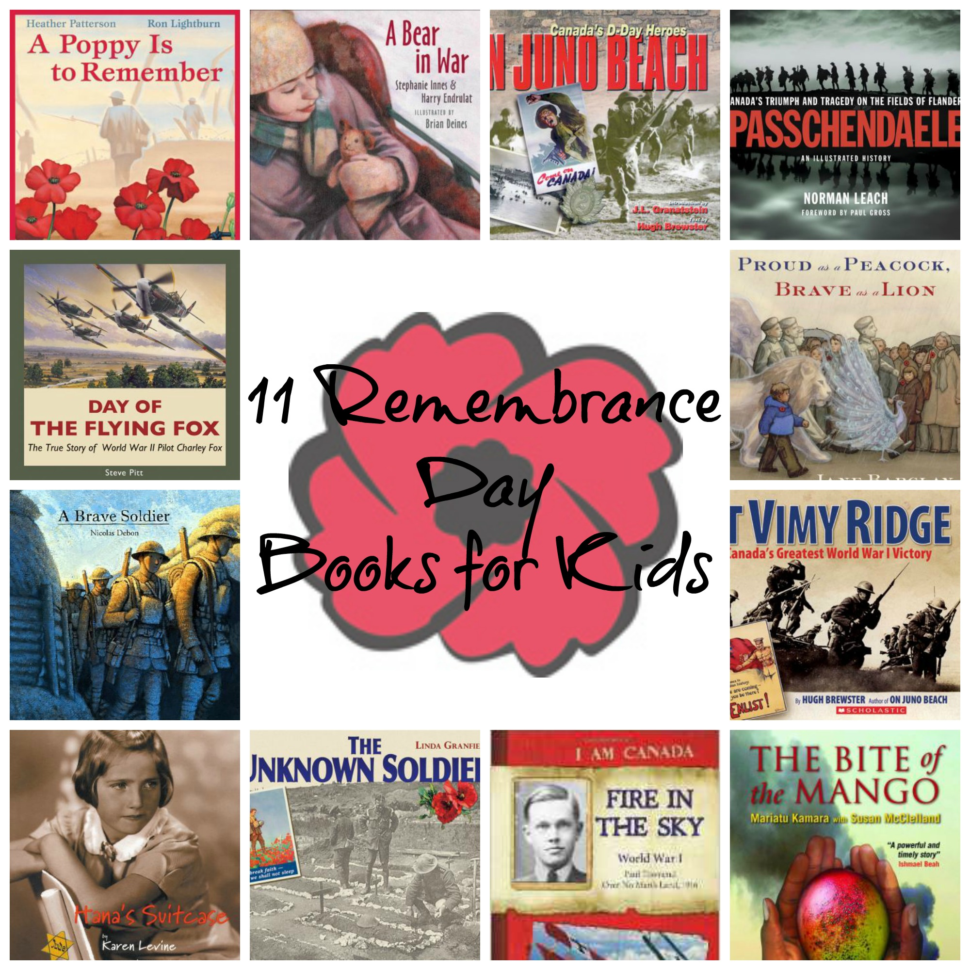 11 remembrance day books for kids serving from home