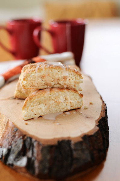 Quick-and-Easy-3-Ingredient-Scones-with-Grapefruit-Glaze-The-Miniature-Moose-1