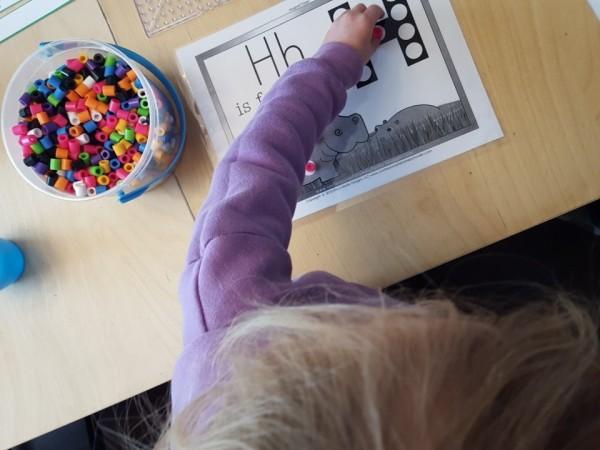 biggie beads homeschooling littles